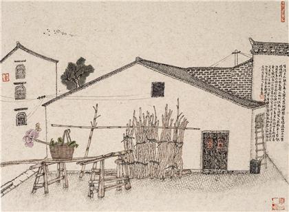 中国书画 国画 名家画 > 皖南查济写生之十四   分享 收藏商品(0人气)