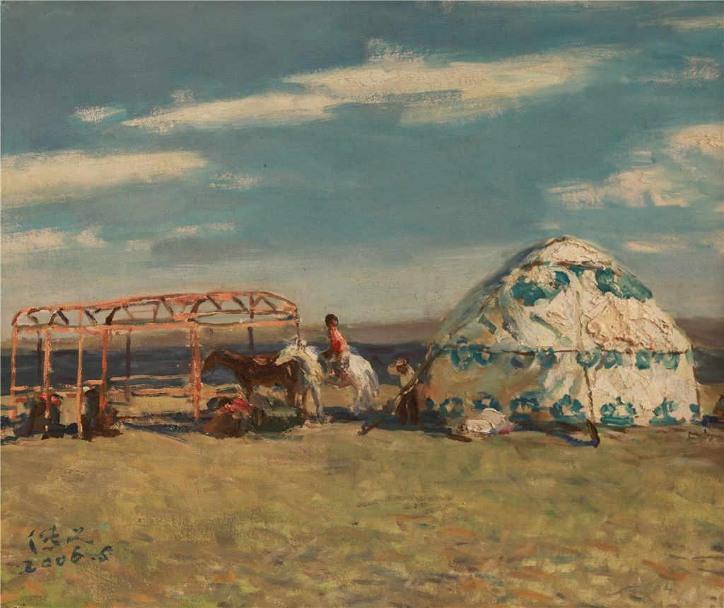 西画雕塑 西画 油画风景 > 蒙古包   分享 收藏商品(0人气)举报 编号