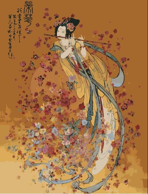 油画古典美女人物风景花卉客厅--张雄艺术商城